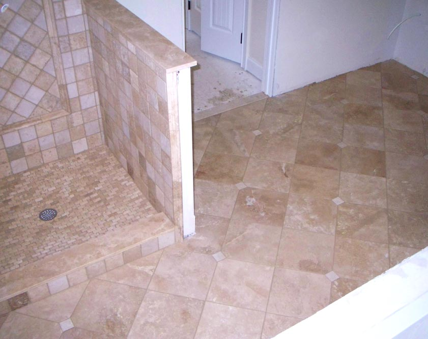Tile bathroom pics - Molinaro Tile Alexaki Sharon Master Bathroom